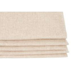 Thermisch gordijn Gewassen linnen Beige MC721 Moondream Premium